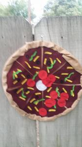 Pin the Pepperoni on the Pizza, the most fun you can have with your clothes on.